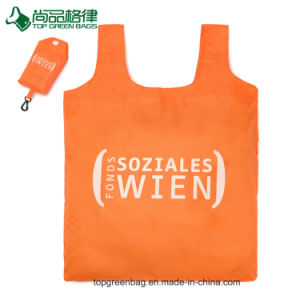 Eco Folding T-Shirt Bag Tote Polyester Shopping Bag pictures & photos