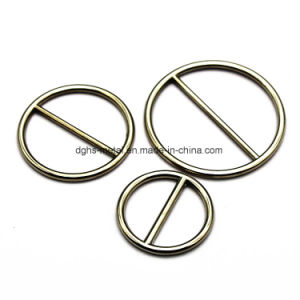 Hot Sale Metal Zinc Alloy Center Bar Slider Buckle for Bag Parts Belt Buckle Shoes Leather Goods Accessories (Yk800) pictures & photos
