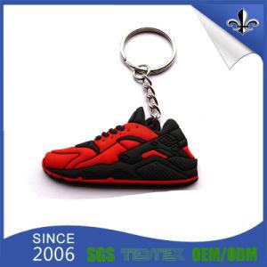 Custom Logo Wholesale Cheap PVC Keychain pictures & photos