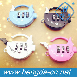 Piggy Shape Digit Resettable Combination Animal Padlock (YH1071) pictures & photos