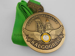 Military Medal with Ribbon and Pin (GZHY-Yb-007) pictures & photos
