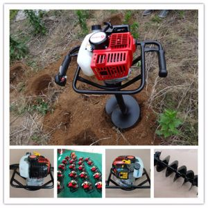 43cc Gas Earth Auger Wholesale Tree Planting Machine pictures & photos