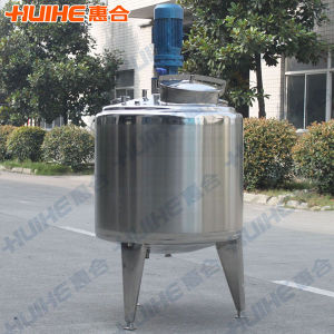 Sanitary Jacketed Stainless Steel Mixing Tank Project pictures & photos
