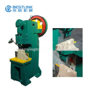 Wall Stone Split Face Mushroom Stone Breaking Machine pictures & photos