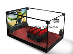 Amusement Park 5D Cinema Simulator Electric / Hydarulic System with 100 Movies pictures & photos