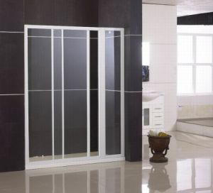 Sliding Tempered Glass Shower Door (WA-IS120)