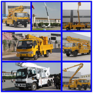 11m Altitude Platform Working Truck 10m High up Truck Truck Mounted Aerial Platform pictures & photos