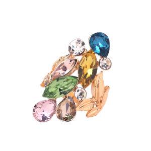 Glass Drop Fashion Ring Jewelry (88AC2028)
