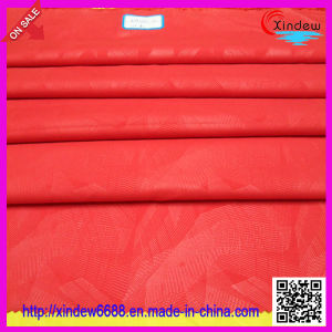 Red Color Polyester Fabric pictures & photos