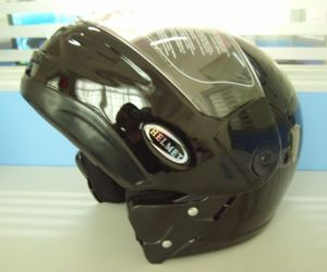 Flip Up Helmet with Graphic