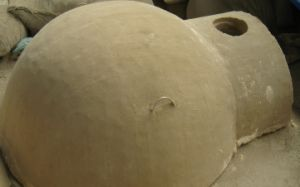 Refractory Dome for Pizza Oven