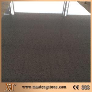 Brown Color Artificial Quartz Slab Factory Price pictures & photos
