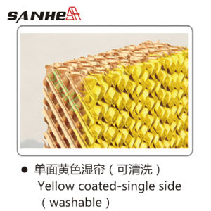 Sanhe Evaporative Cooling Pad (Yellow Coated) -Lee pictures & photos