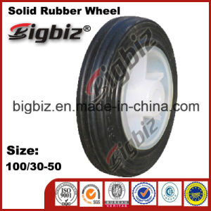 100/30-50 Small Solid Rubber Tires and Wheels pictures & photos