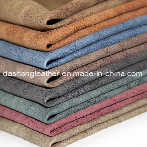 Classcial Semi-PU Synthetic Furniture Leather (B803) pictures & photos