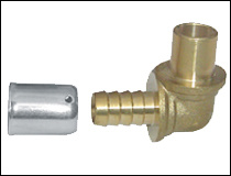 Plain Brass Press Fittings of Conical Thread pictures & photos