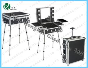 Lighting Makeup Case with Stand and Lights (HX-DB9608) pictures & photos