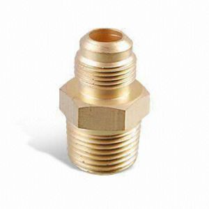 59 Brass Male Thread Hex Flare Fittings pictures & photos