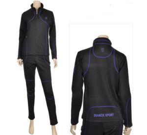 Women Polyester Jogging Suit Sport Tracksuit pictures & photos