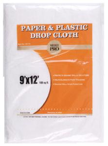 paper u0026 plastic drop cloth
