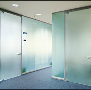 Clear Sandblasted Glass for Partition pictures & photos