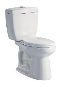 Hot Sale Sanitary Ware Wc Flushtoilet Jet Siphonic Two Pieces Toilet (WDS48)