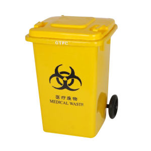 Mobile Garbage Bin Plastic 100lt pictures & photos