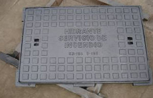 Ductile Iron Casting Manhole Cover with Frame with SGS Certificate pictures & photos