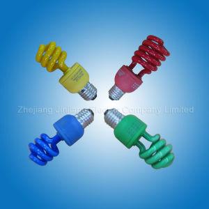 Colour Half Spiral - Energy Saving Lamp