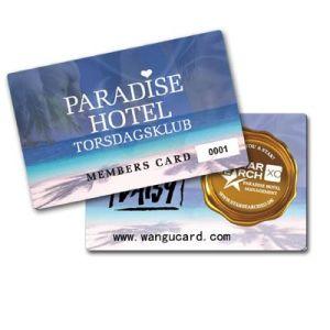 PVC Hotel Card