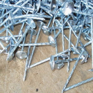 Spiral Shank Umbrella Roofing Nails Galvanized Roofing Nails pictures & photos