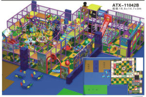 Indoor Playground- Fun Ball-Naughty Castle (ATX-11042B)