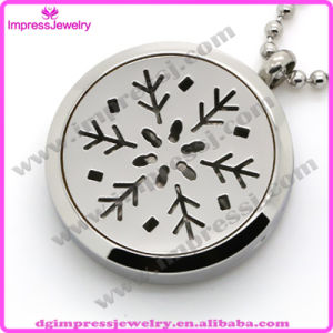 316L Stainless Steel Diffuser Perfume Lockets Pendant Essential Oil Lockets Necklace pictures & photos