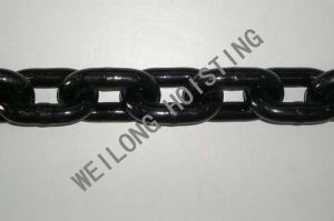Power Coated Black Lifing Chain (G80)