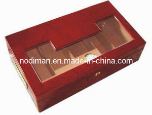Dark Red Cigar Wooden Box (P12) pictures & photos