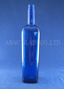 Blue Glass Bottle pictures & photos