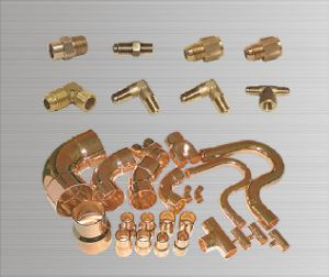 Compression Brass Fittings Brass Tee Brass Elbow pictures & photos