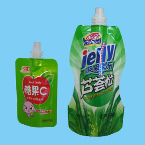 Plastic Self-Standing Packing with Spout, Plastic Spout Pouch pictures & photos