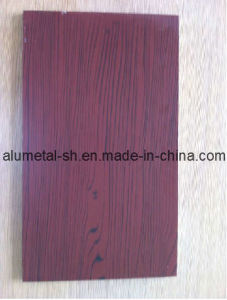 Wooden Aluminum Cladding