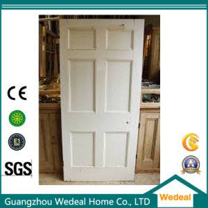 Customize MDF Raised/Flat Six Panel Door for Project pictures & photos