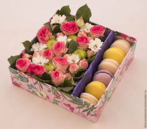 Luxury and Colorful Flower Box/ Food Box/ Packing Box