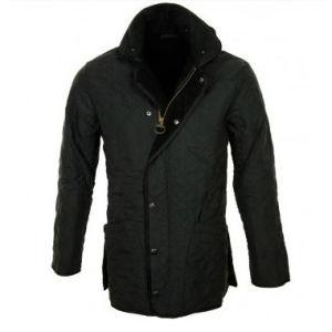 Men′s Microfibre Jacket, Black Down Jacket (MN009)
