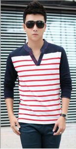 2014 Men′s V Neck Shirts