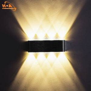 China Supplier Warm Light 12W SMD LED Wall Light Fixtures pictures & photos