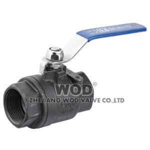 2PC Carbon Steel Wcb Ball Valve pictures & photos