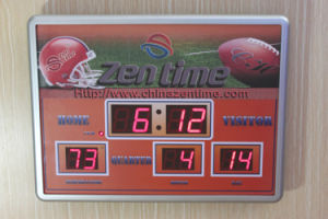 Score Board LED Emitting Digital Wall Clock pictures & photos