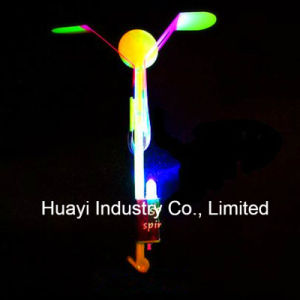 LED Flying Spinning Sling Copters Toy pictures & photos