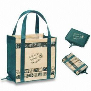 Fashion Foldable Shopping Bag (WLH0217)