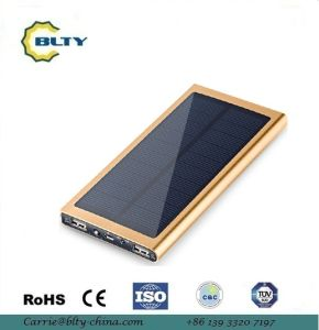 8000mAh Solar Power Bank with LED for Mobile Phone Charging pictures & photos