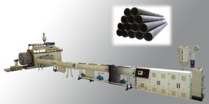 Large Diameter Hollow-Wall Twisted Pipe Extrusion Line